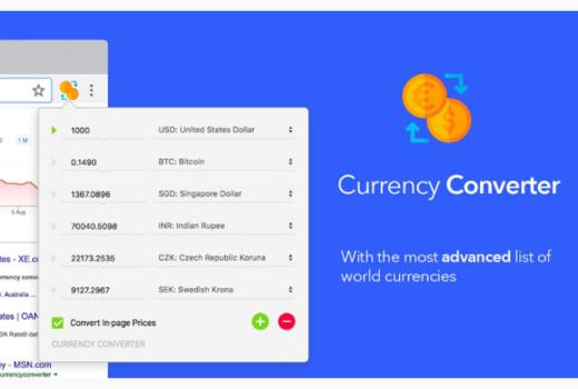 ドル円換算Chrome拡張機能が超便利!全通貨を現在レートで変換可能!